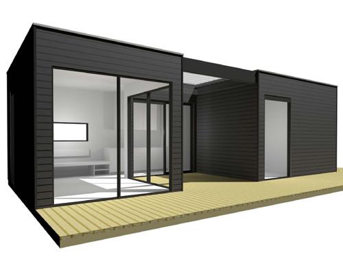 De bungalow ontwerp bungalow de bungalowom 39 t noord - Bungalow ontwerp hout ...